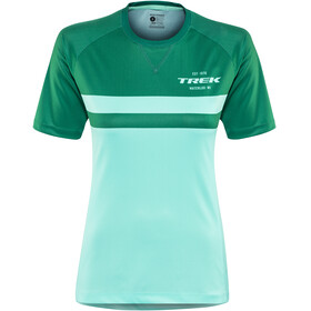Bontrager Rhythm Tech Tee Women miami/british racing green